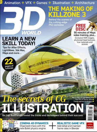 3D World magazine 140