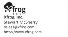 Xfrog info